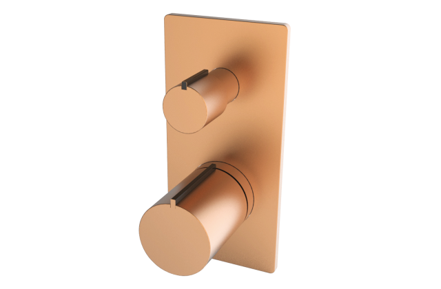 Olive Gold- Single Lever Concealed Diverter